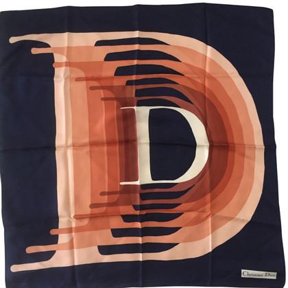 Christian Dior Silk scarf with print