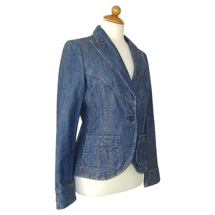 Marc Jacobs Jeansblazer in Blau