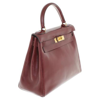 Hermès « Kelly Bag 28 Boîte en cuir veau »