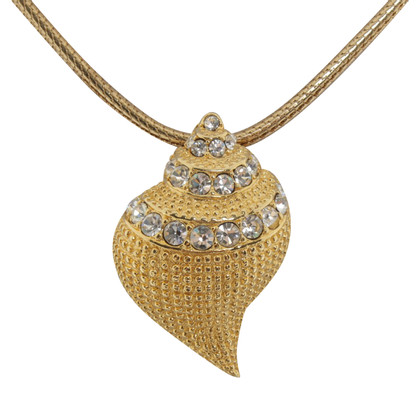Kenneth Jay Lane Omegakette with shell-pendant