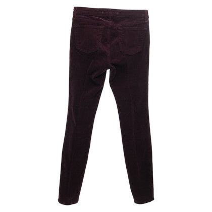 J Brand Corduroy pants in Bordeaux