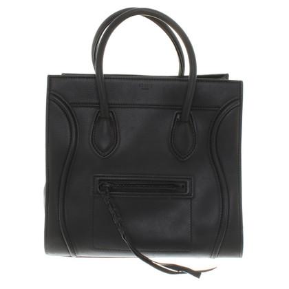 "Céline ""Phantom Bagage Bag"" in zwart"