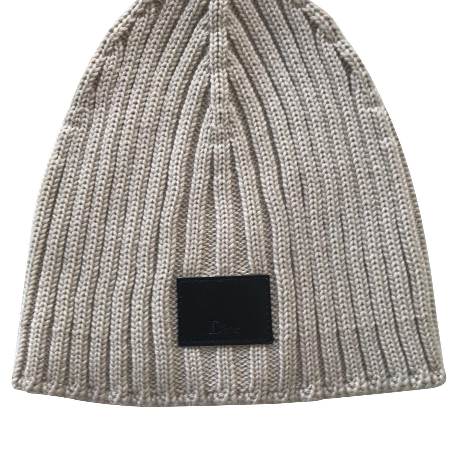 christian dior mütze aus wolle - second hand christian dior