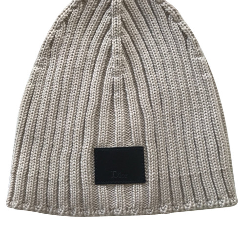 6c6b045cf7a Christian Dior Hat made of wool - Second Hand Christian Dior Hat ...