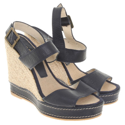 Hobbs Wedges in blue