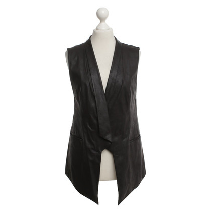 Drykorn Gilet in similpelle