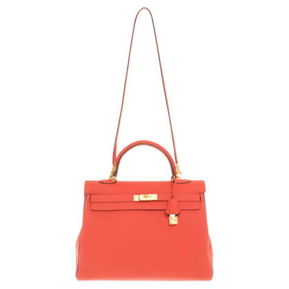 "Hermès ""Cuoio Kelly Bag 35 Taurillon Clemence"""