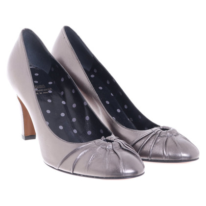 Moschino Cheap and Chic Silver colored pumps