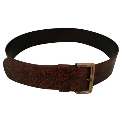 Furla Brown faux leather belt