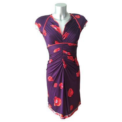 Leonard Jersey-Kleid aus Seide