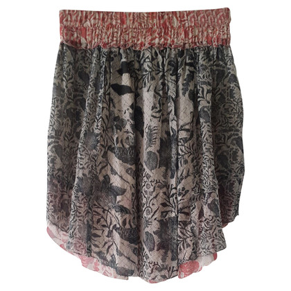 Isabel Marant Printed silk skirt