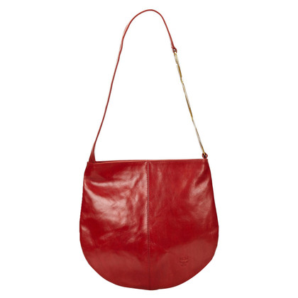 MCM MCM Patent Leather Shoulder Bag