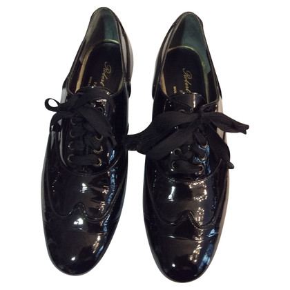 Robert Clergerie Lace-up shoes in patent leather