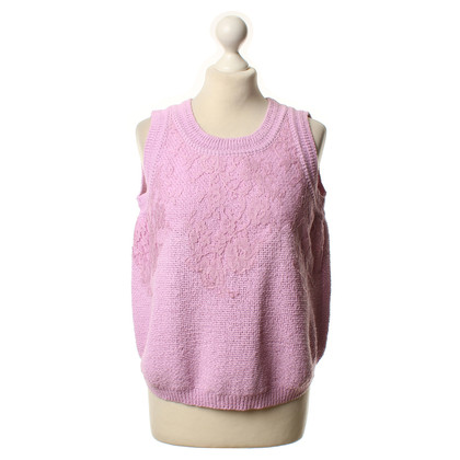 Ermanno Scervino Knitting top in pink