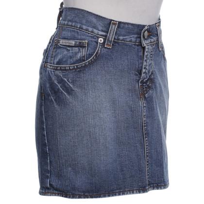 Calvin Klein Gonna Jean in blu