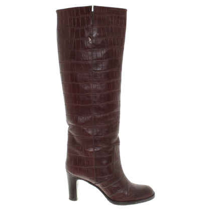 Armani Boots in dark brown