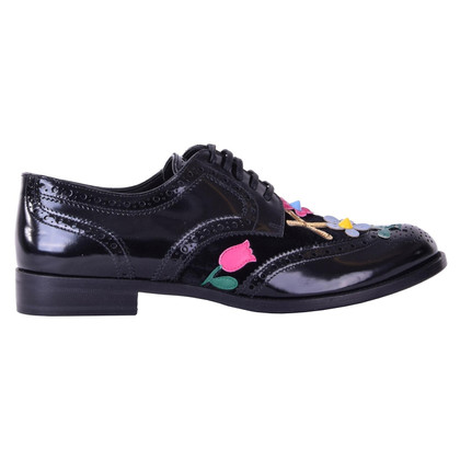 Dolce & Gabbana Lace-up shoes with applications