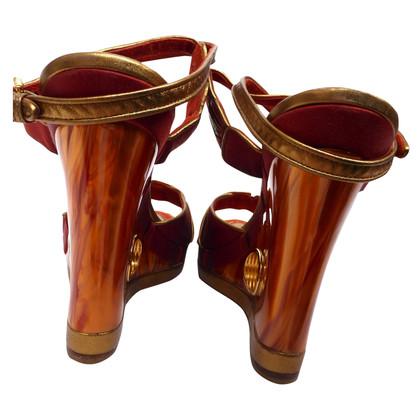 Louis Vuitton Plateau sandals