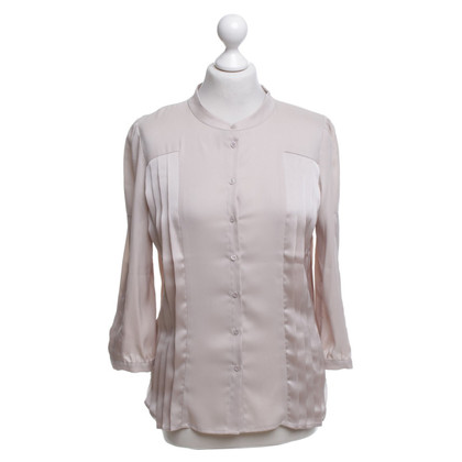 Comptoir des Cotonniers Schimmernde Bluse in Beige