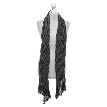 Becksöndergaard Scarf with striped pattern