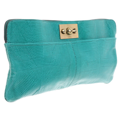 Chloé clutch made of reptile leather