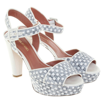 Sonia Rykiel pumps in gray / white
