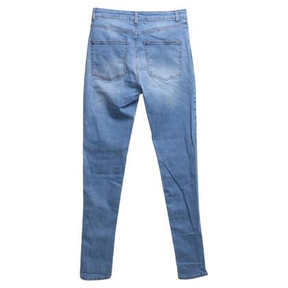 Acne Skinny jeans in azzurro