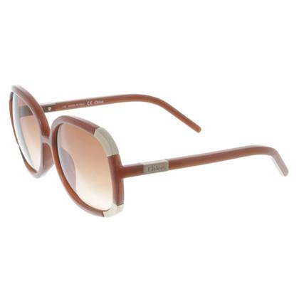 Chloé Grote zonnebril