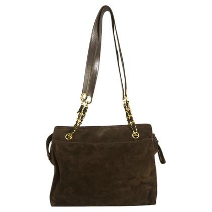 Chanel Shoulder Bag Suede