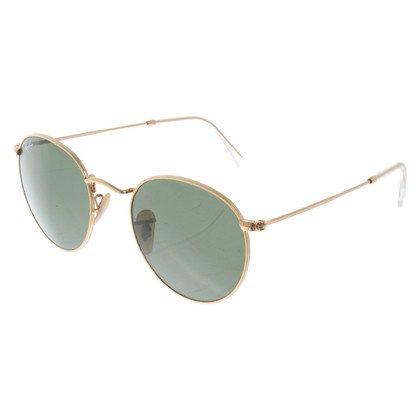 Ray Ban Sunglasses in gold colors