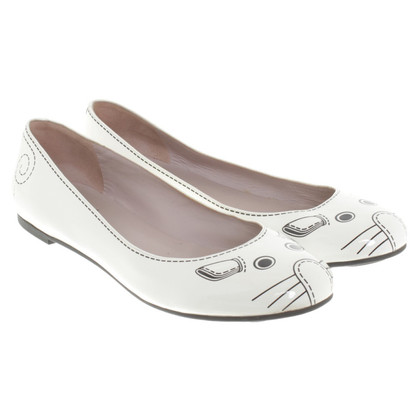 Marc by Marc Jacobs Ballerinas in white