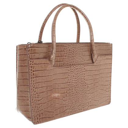 Dorothee Schumacher Handbag with crocodile embossing