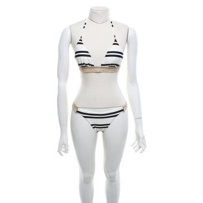 ViX Paula Hermanny Bikini with stripe pattern