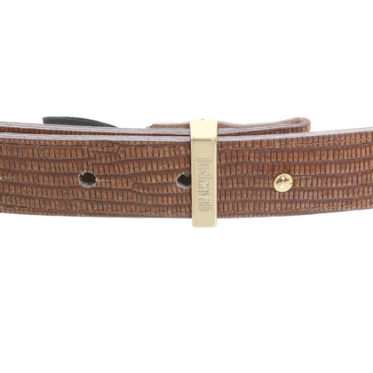 Just Cavalli Belt with reptile embossing