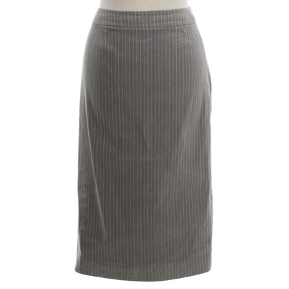 Christian Dior Pencil skirt in grey / white