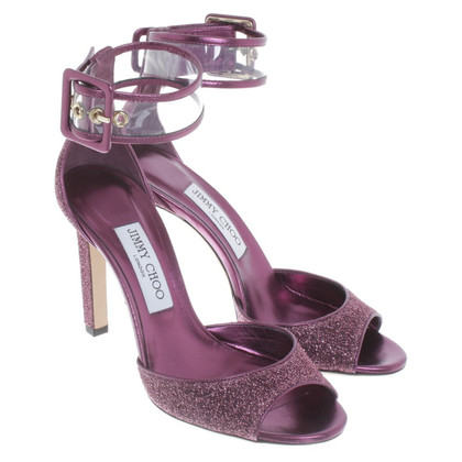 Jimmy Choo Fuchsia sandals