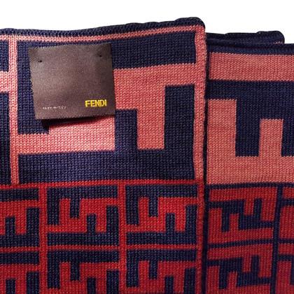 Fendi Sciarpa in lana