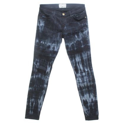 Current Elliott trousers with batik pattern