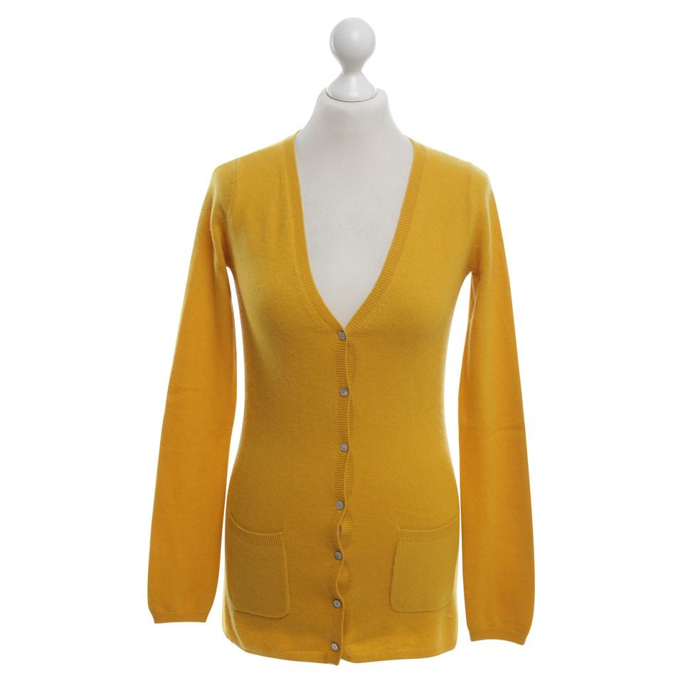 FTC Cardigan in mustard yellow - Buy Second hand FTC Cardigan in ...