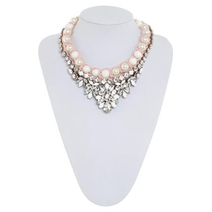 Shourouk Necklace with gemstones