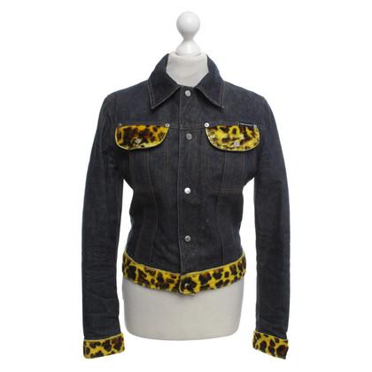 D&G giacca di jeans con dettagli
