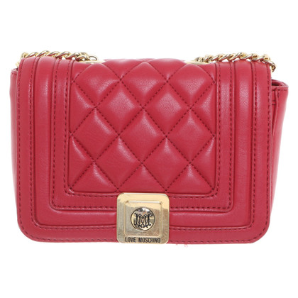 Moschino Love Handtas in rood