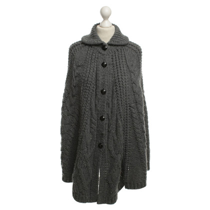 Thomas Burberry Poncho in grey