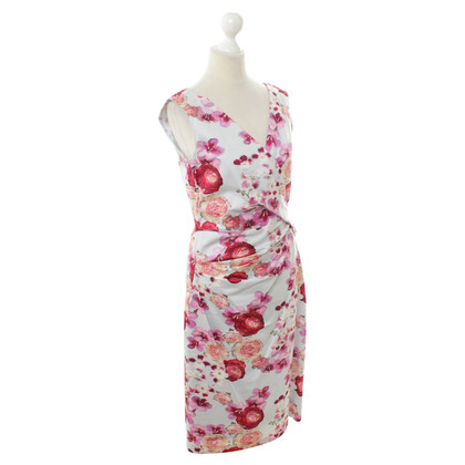 Talbot Runhof Dress with a floral pattern