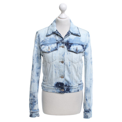 J Brand Denim vest met patroon