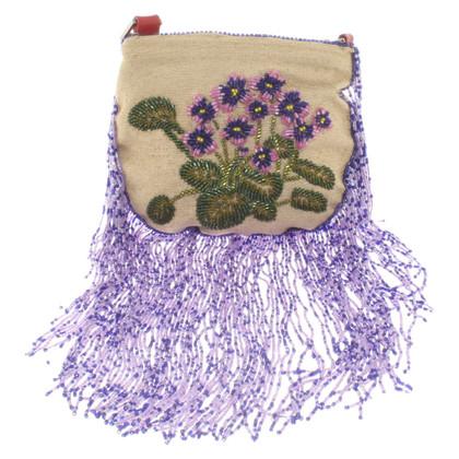 Valentino Borsa a tracolla fatta di lino