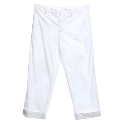 Miu Miu trousers in white