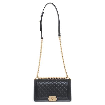 "Chanel ""Dde03aea Boy Bag"" in nero"