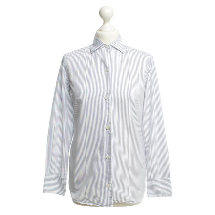 Loro Piana Blouse in blue/white