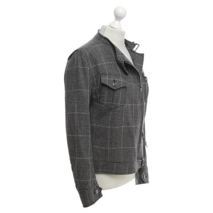 Escada Jacket in grijs / zwart